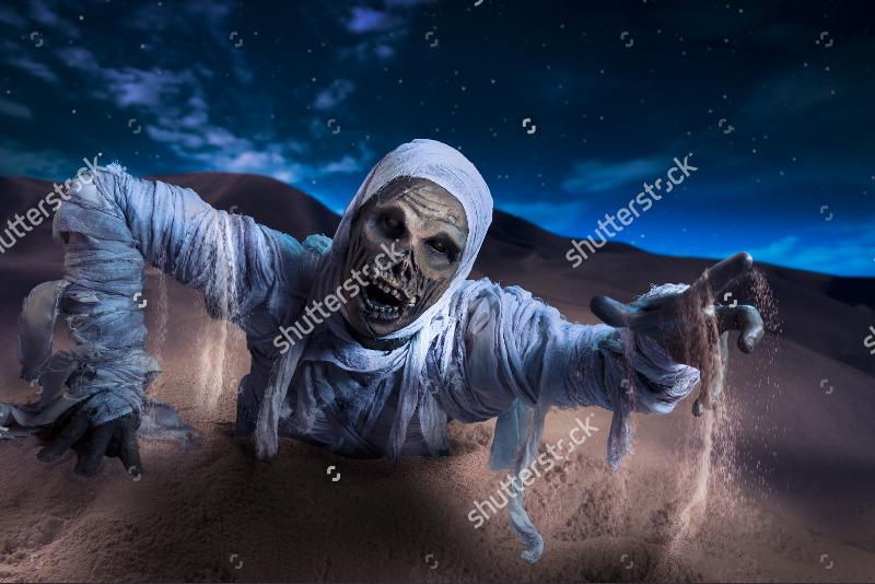 Scary Halloween Monster Mummy