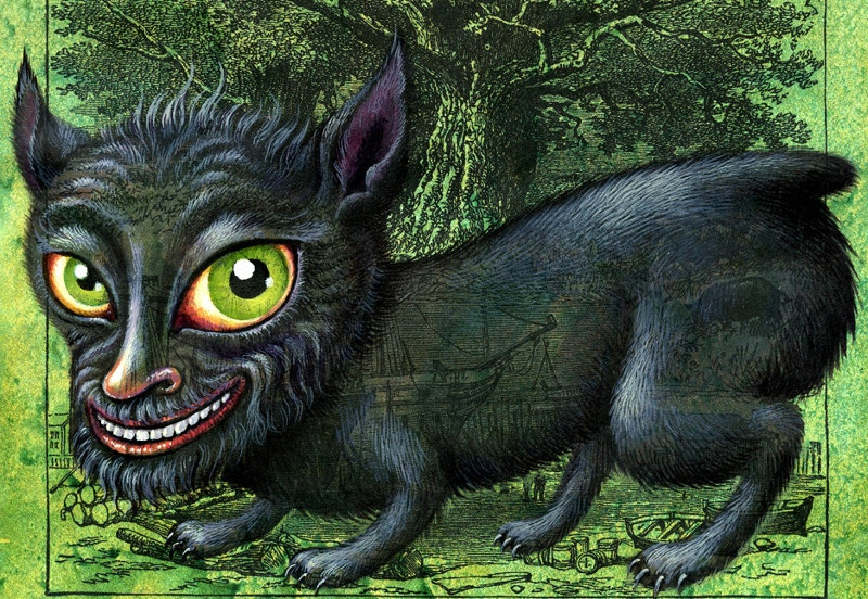 Halloween Dog Monster Creature