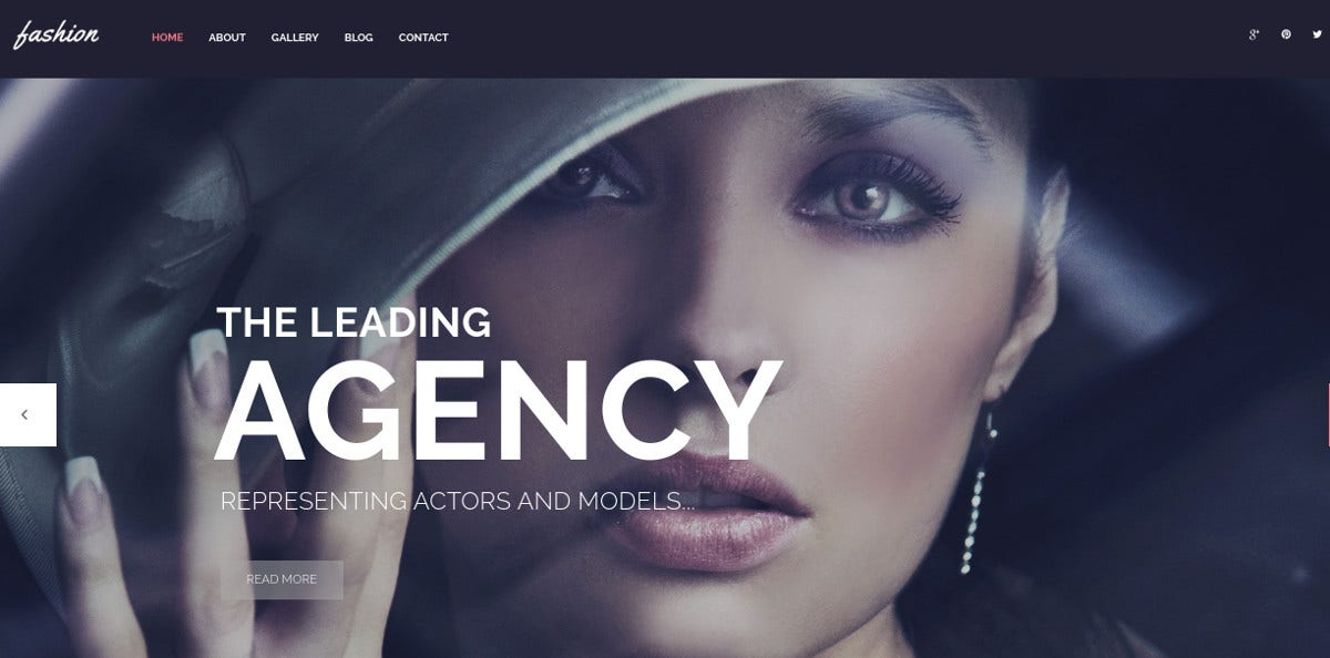 Fashion Spot WordPress Website Theme $75