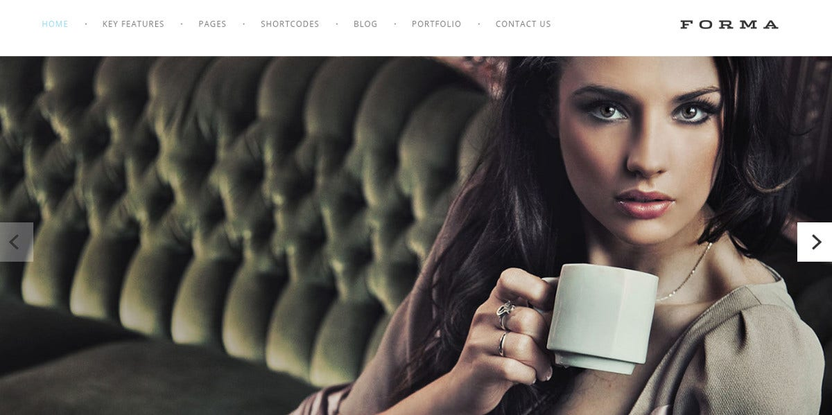 Fashion Photography Drupal Website Theme $48