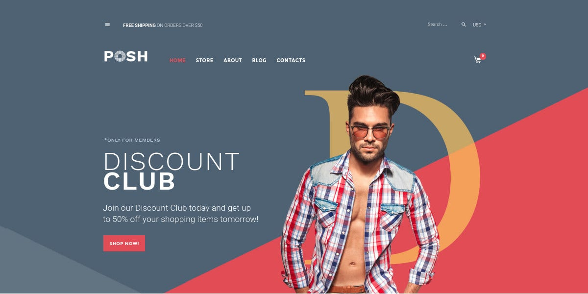 Fashion Apparel Woocommerce Website Template