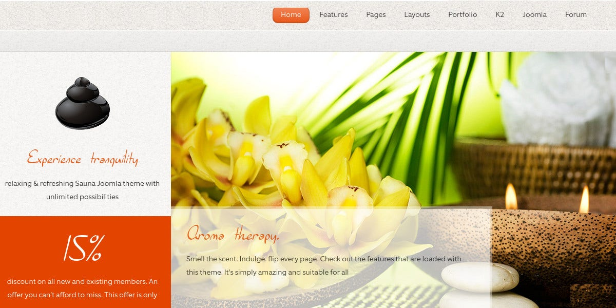 beauty spa blog responsive joomla template 48