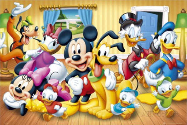 disney group poster