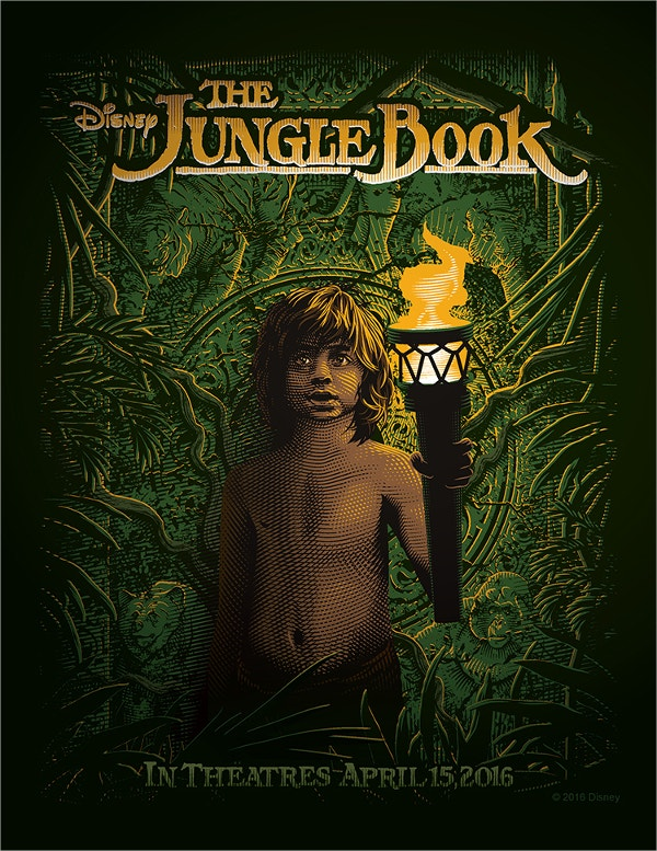 disneys the jungle book poster