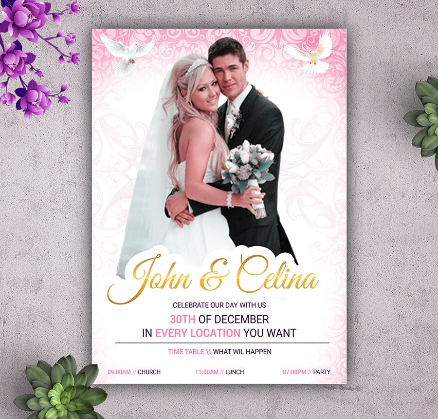 22  free wedding invitation templates