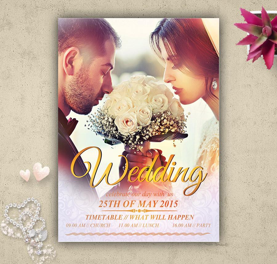 22+ Free Wedding Invitation Templates