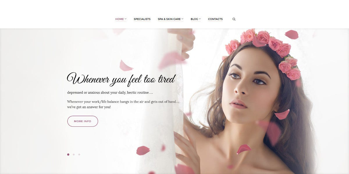 beauty spa wordpress blog theme 54