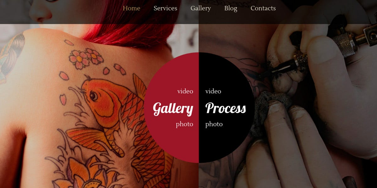 beauty tatoo salon blog wordpress theme 143