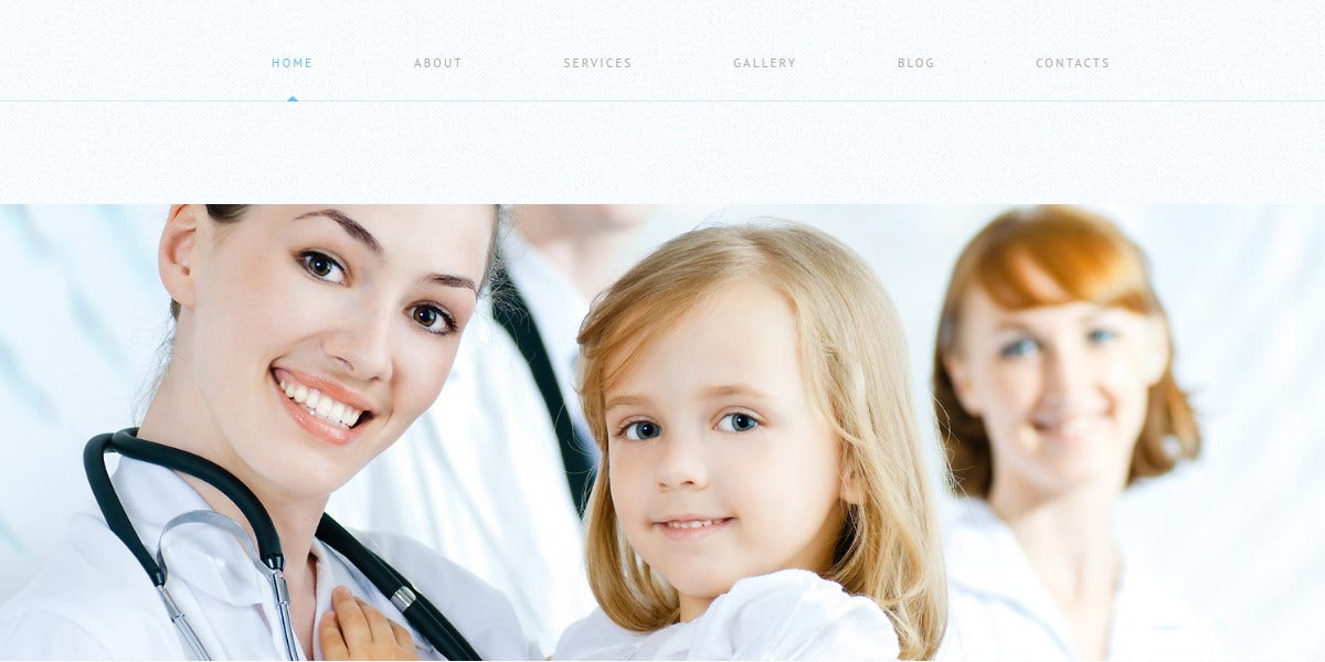 Medical Responsive WordPress Website Theme $75