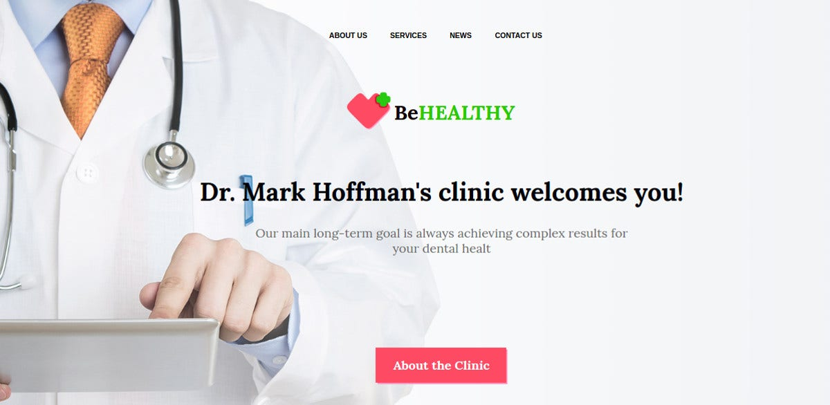 Medical Moto CMS HTML Website Template