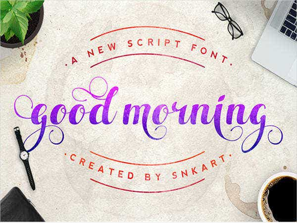 good-morning-script-card