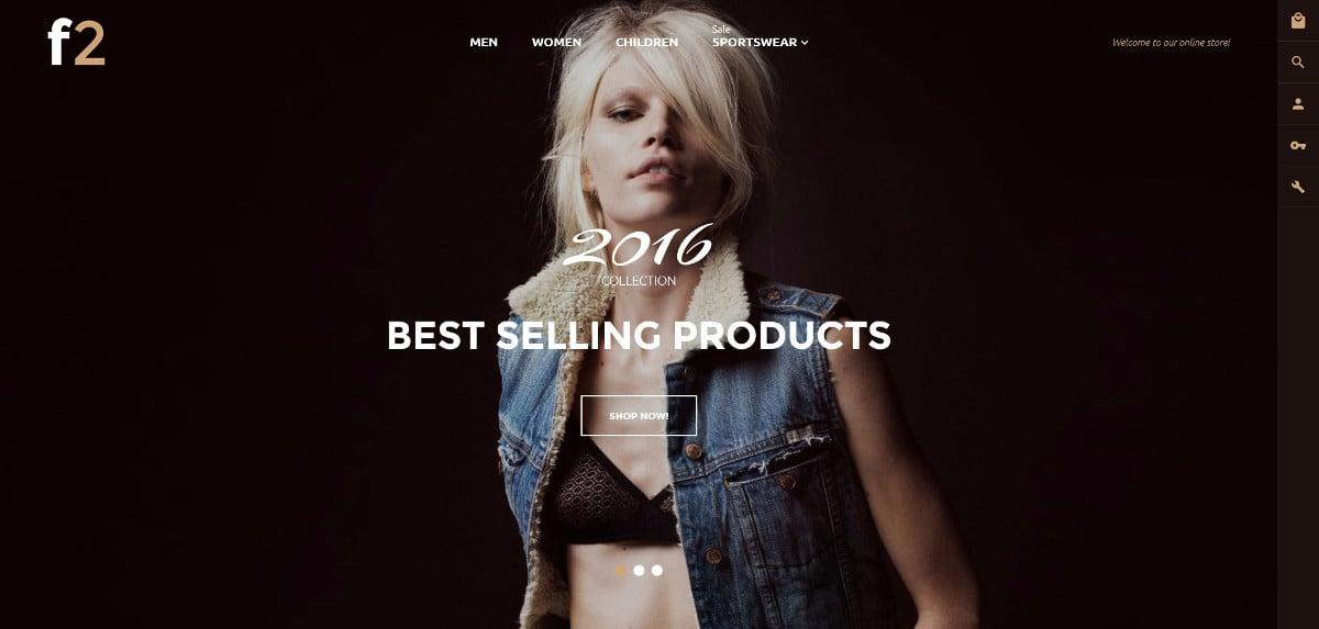 Fashion Boutique Magento Website Theme $179
