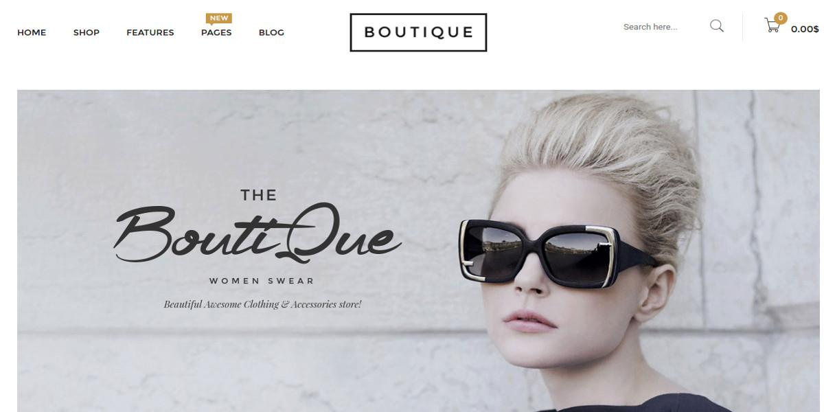 eCommerce & Boutique WooCommerce WordPress Theme $59