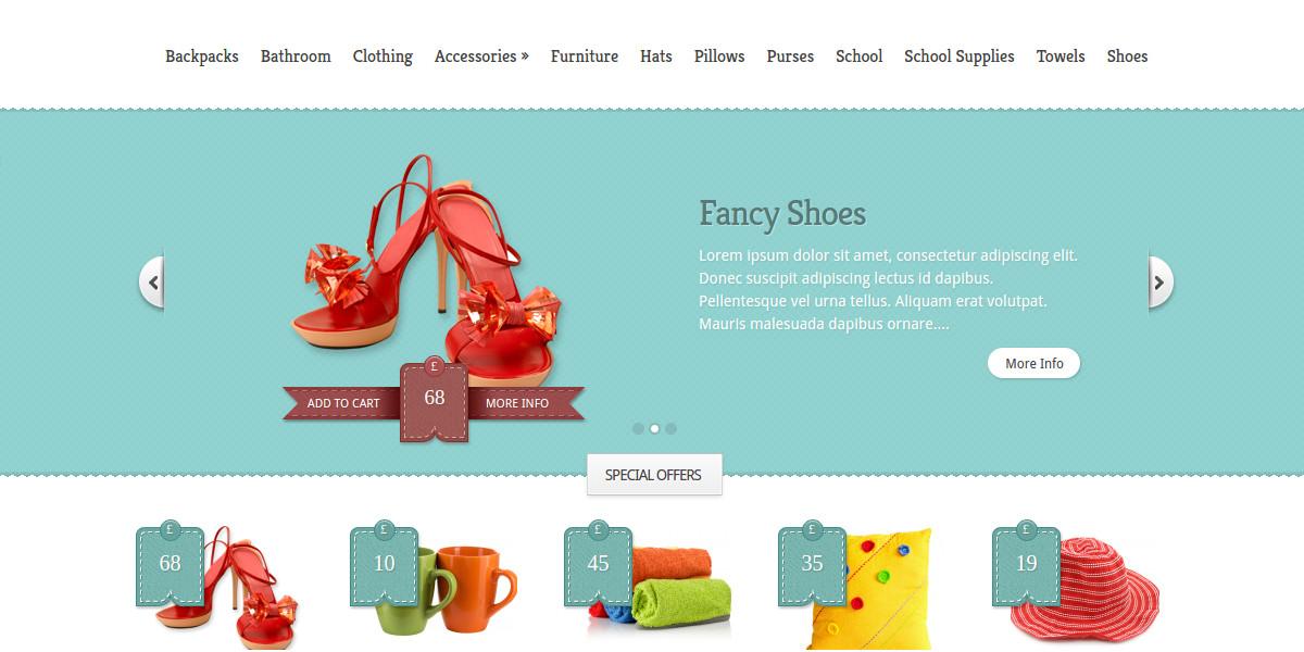 Online Stores & Boutique WordPress Website Theme