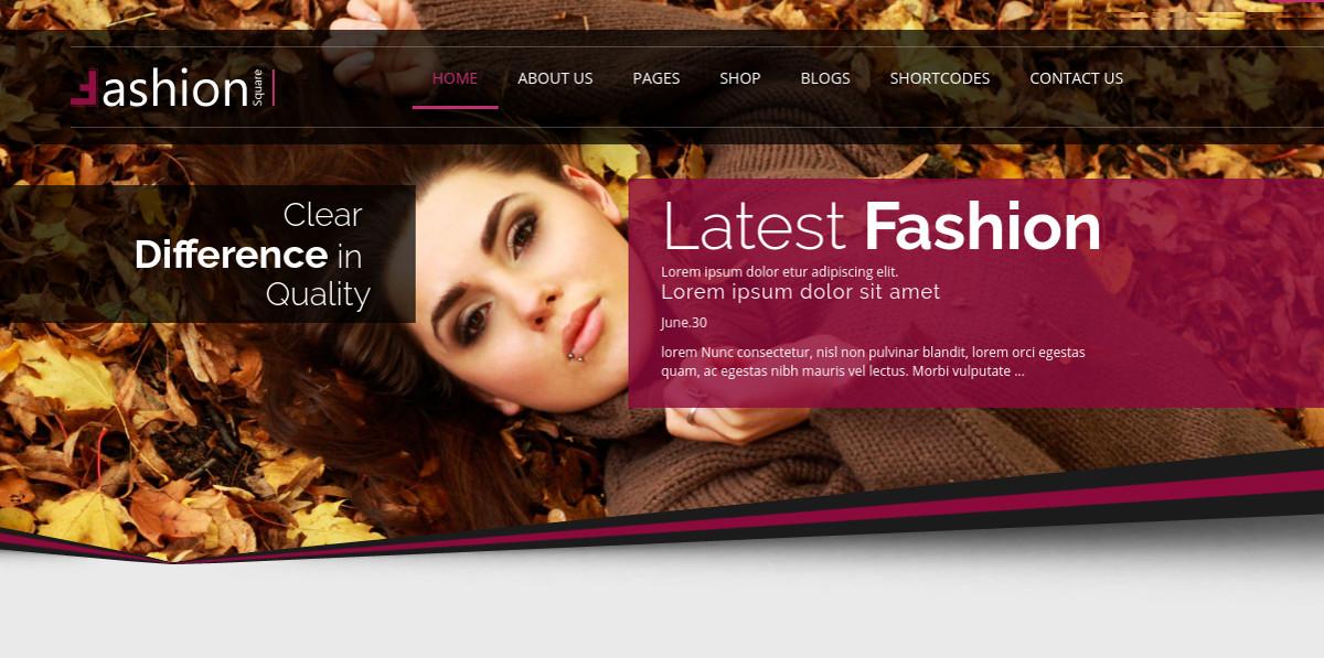 Boutique, Garments & eCommerce HTML5 Website Theme $17