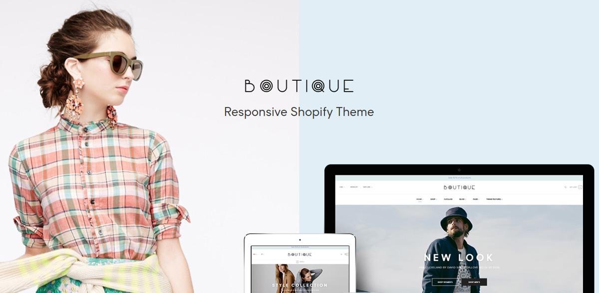 Multi Store & Boutique Shopify Website Theme $56