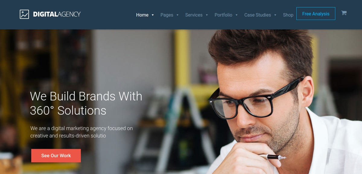 digital agency bootstrap template 59