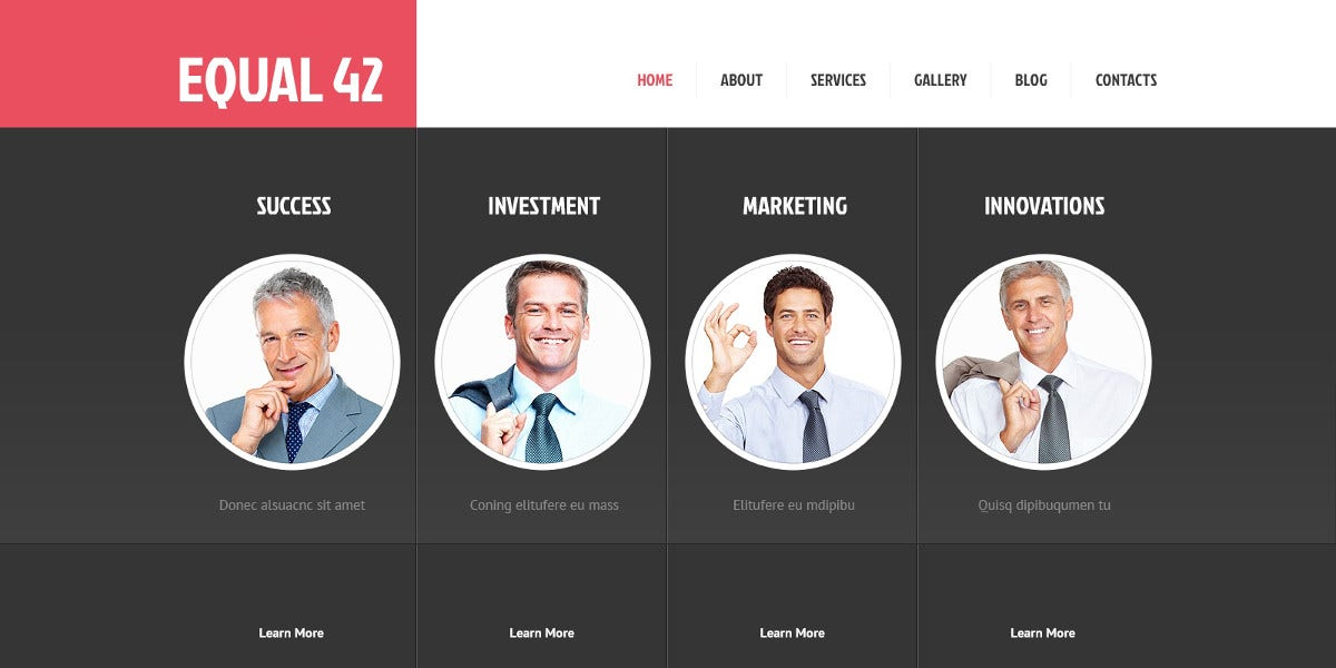 Advanced Marketing Agency Bootstrap Theme $53