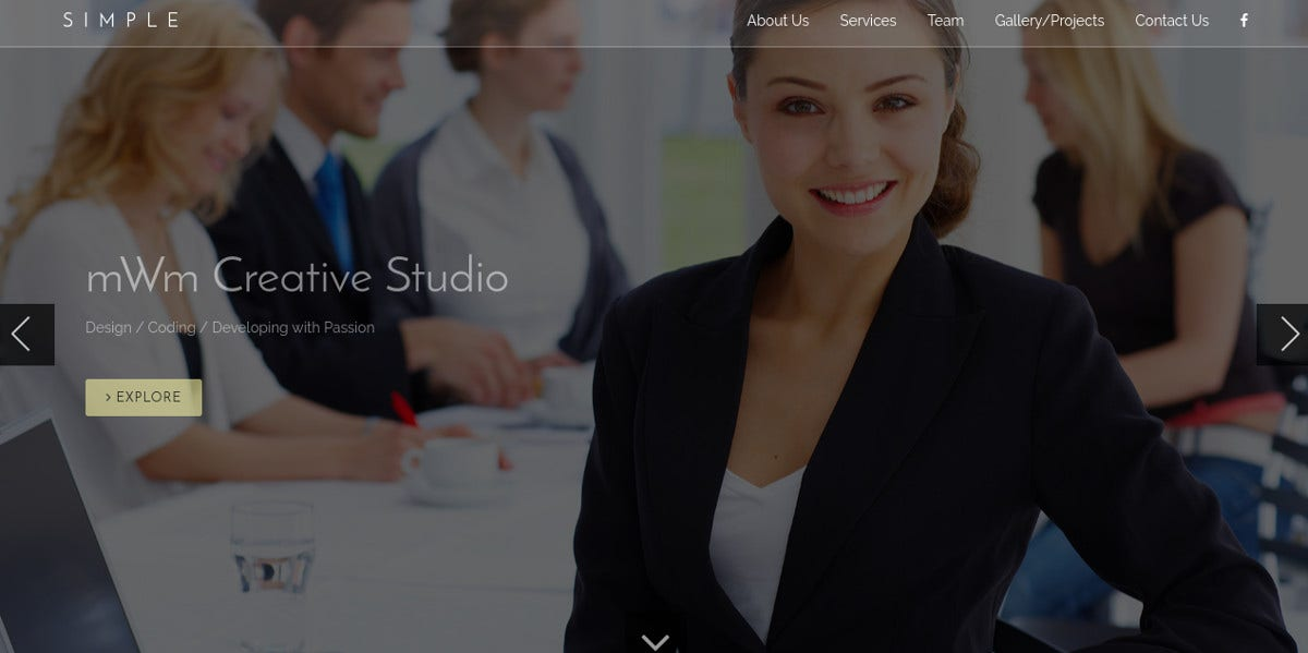 Web Design Agency Bootstrap Theme $14