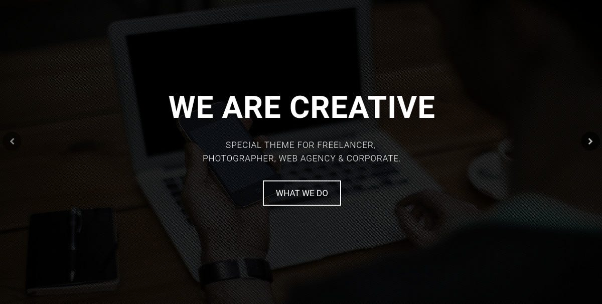 Agency & Portfolio Bootstrap Template $15