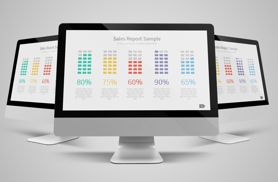 Sales Report Presentation Template