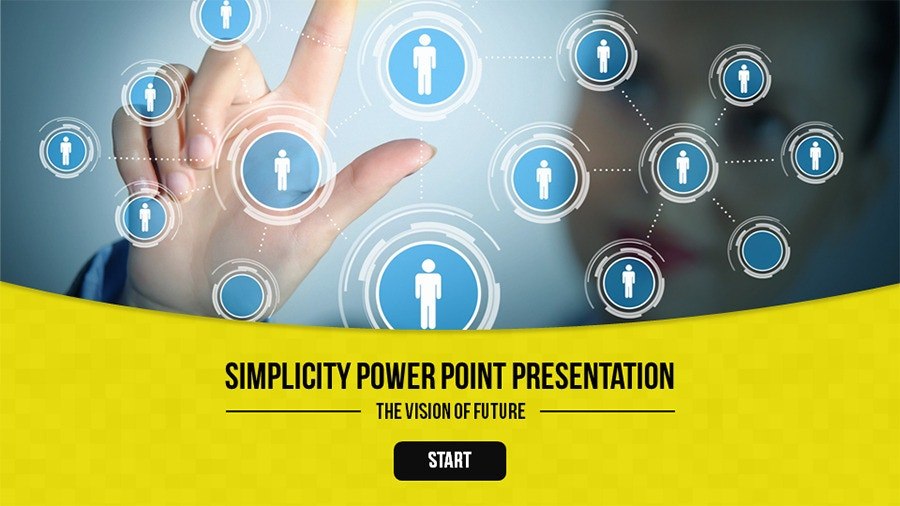 PowerPoint Presentation Templates Simplicity