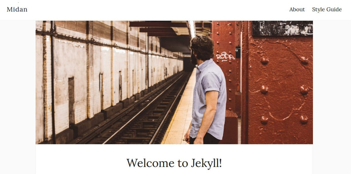 Jekyll Online Blog Theme $29