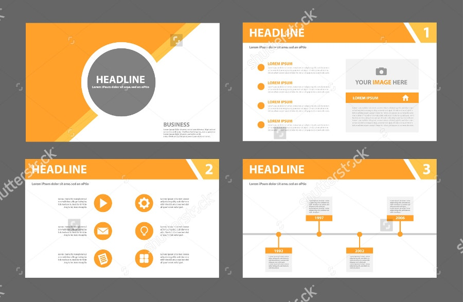 Orange Multipurpose Presentation Template