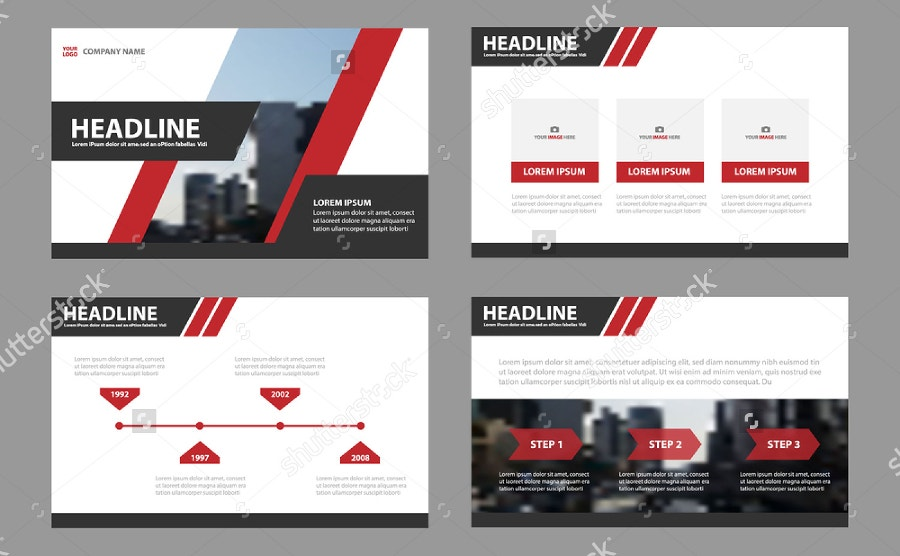 Leaflet Marketing Presentation Template