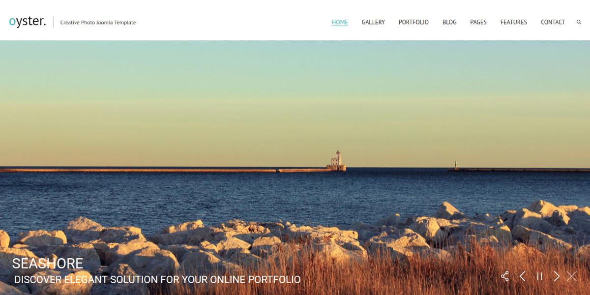 Creative Photography Joomla Website Template $48