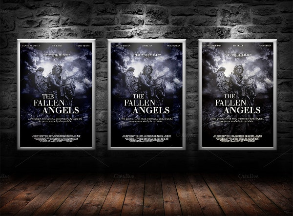 Movie Poster Print Template