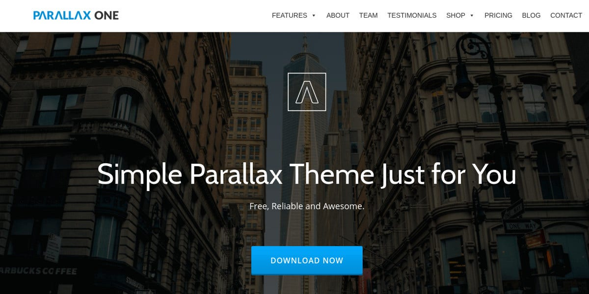 Free Photography WordPress Website Theme