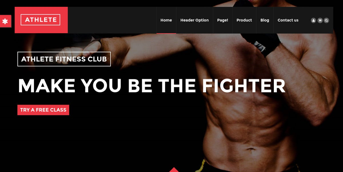 Athlete and Sport Drupal theme $48