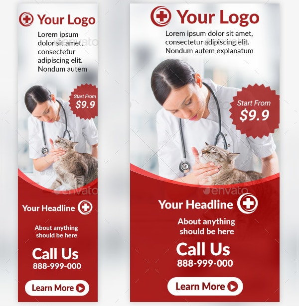Carporate Doctor Medical Banner Template