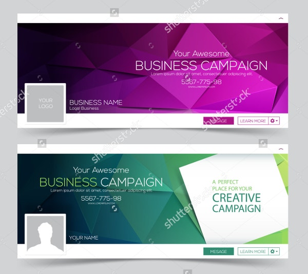 web banner header layout template