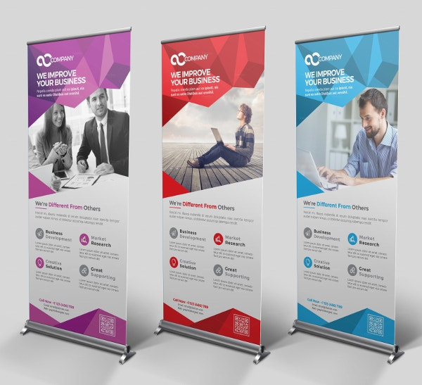 proffesional multipurpose roll up banner