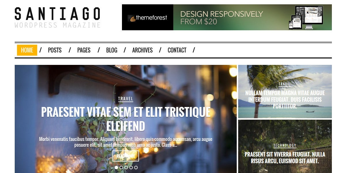 typography wordpress magazine news theme 49