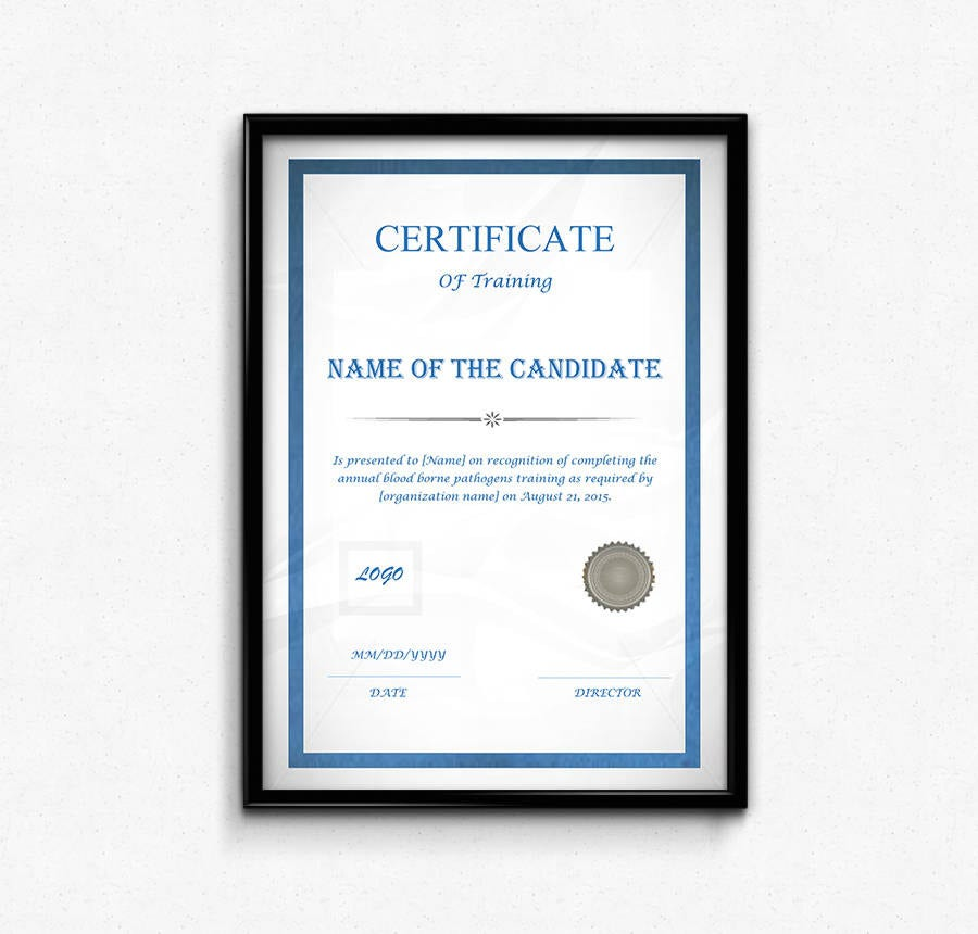 17 free certificate templates participation completion if a student has successfully completed a training course within the given stipulated time the organization can issue this certificate template to himher yelopaper Gallery