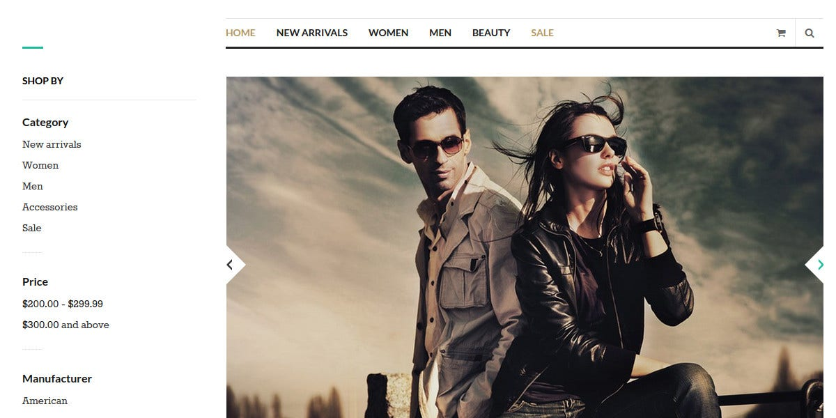professional design fashion stores magento theme