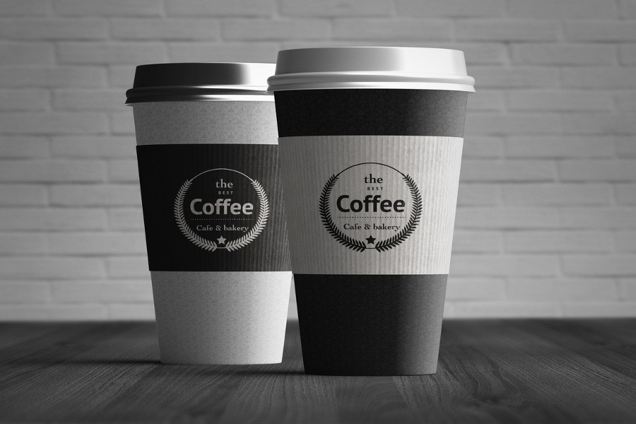 paper-designed-coffee-cup-mockup