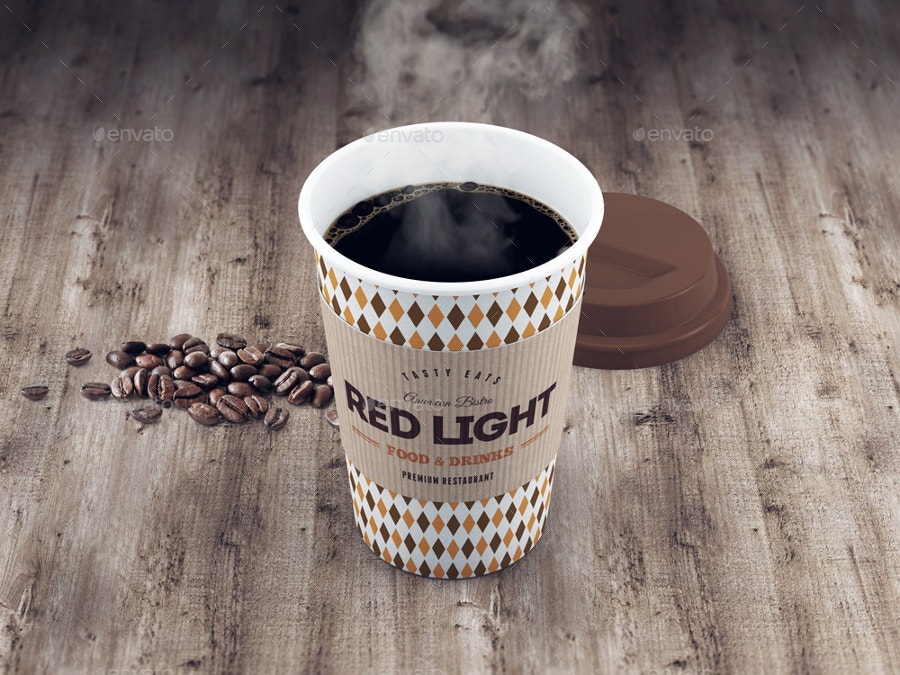 hot-coffe-cup-with-coffee-beans
