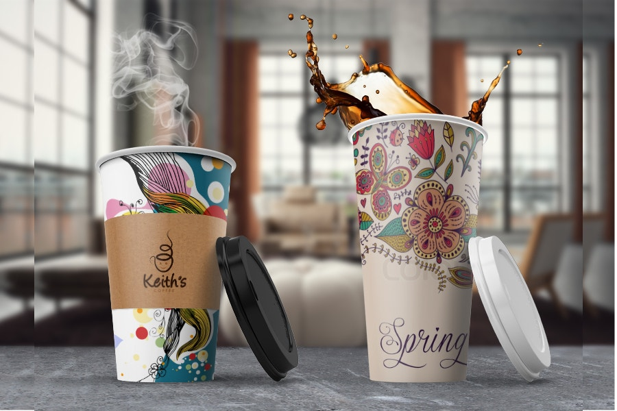 coffee-chilling-out-from-coffee-cup-mockup