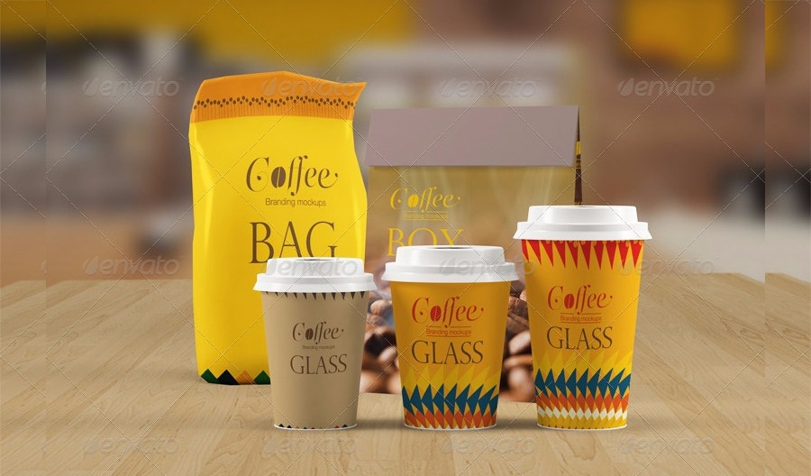 coffee-cup-mockup-with-coffee-bag