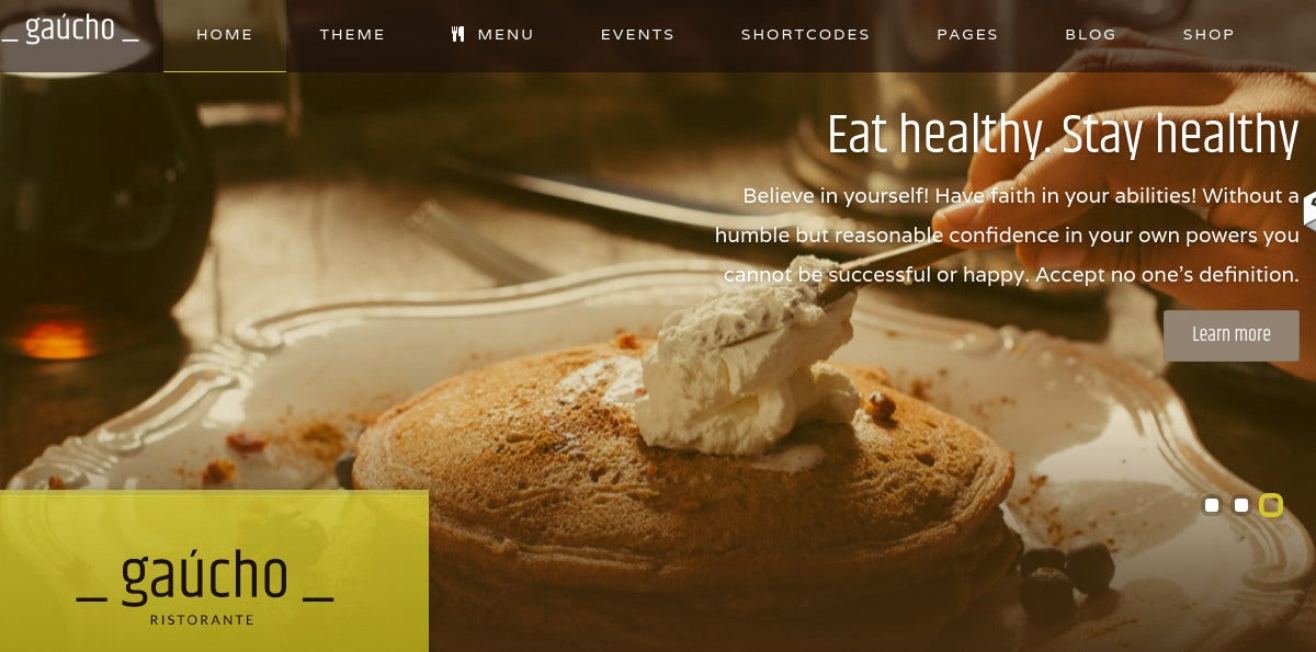 Restaurant, Cooking Food & Coffee Shop Joomla Website Template $48