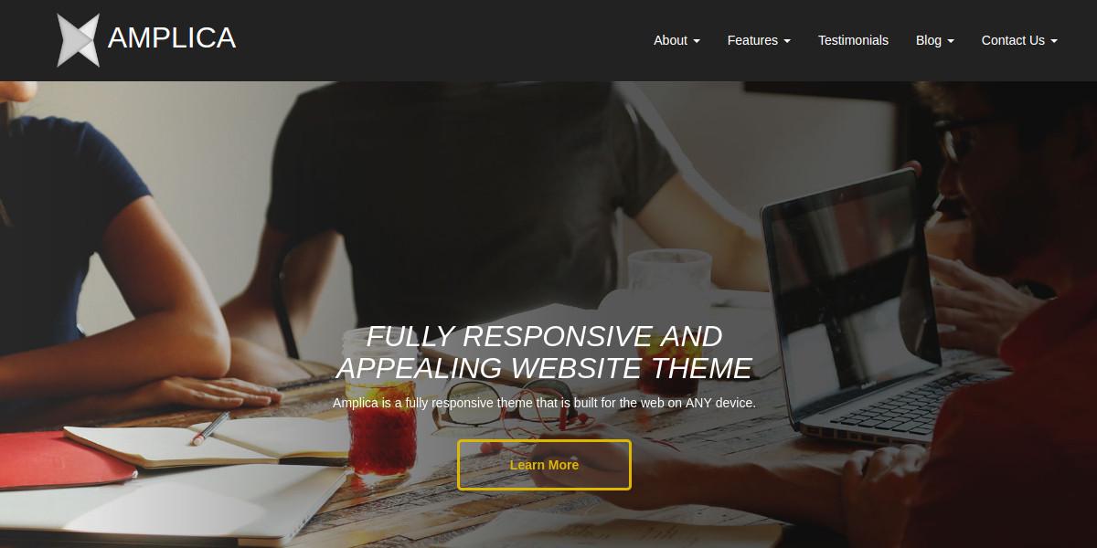 Professional Responsive Concrete5 Theme