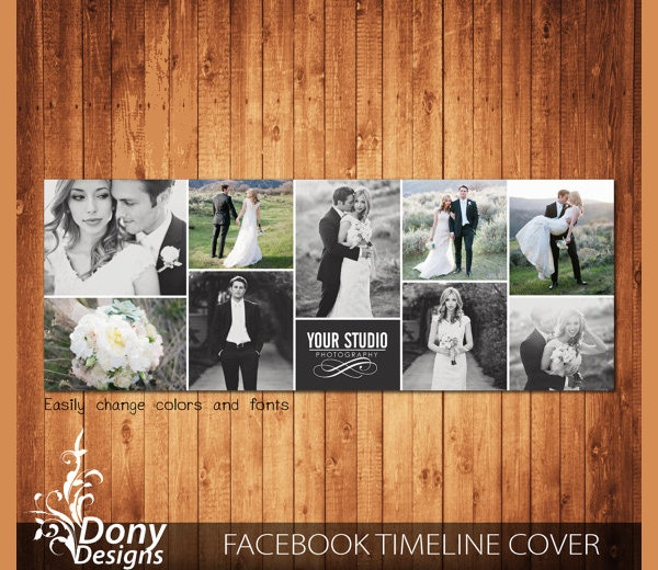 Wedding Facebook Timeline Cover Template