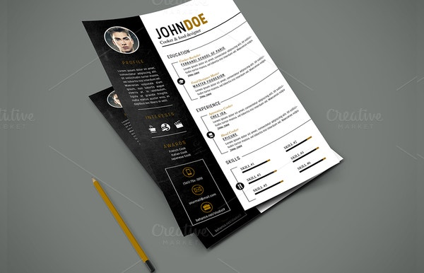 Beautiful Resume & Cover Template