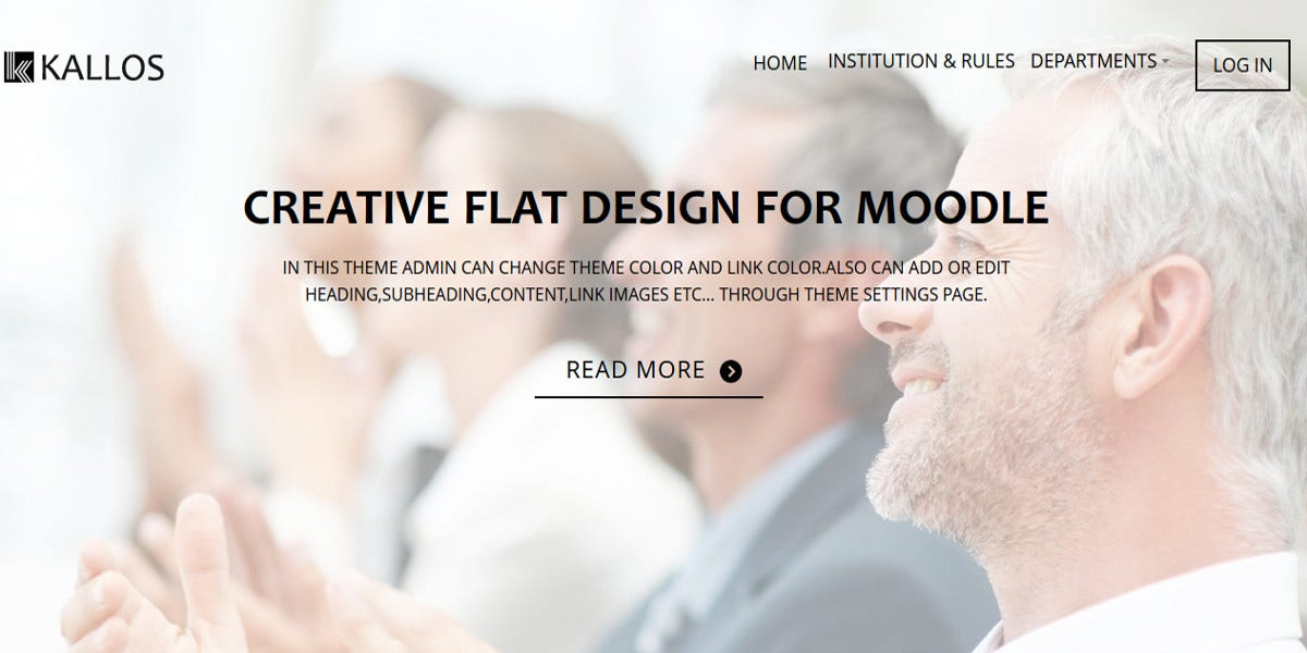 Professional Creative Design Moodle Theme
