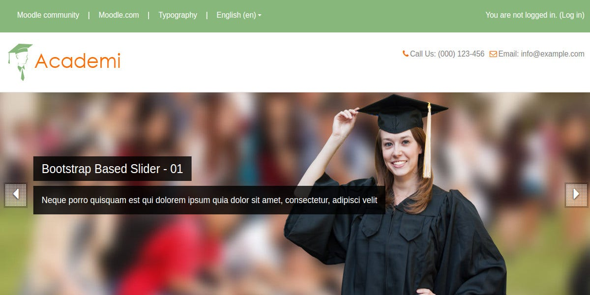 Professional Academy Moodle Theme
