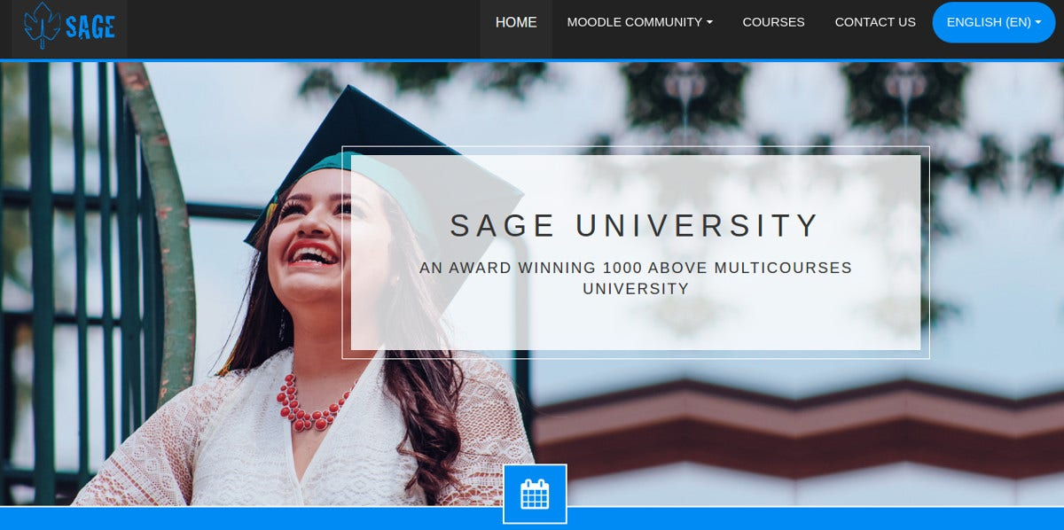 MultiCourses Professional University Moodle Theme